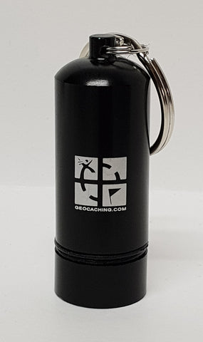 Official Groundspeak Logo Premium Bison Tube cache container