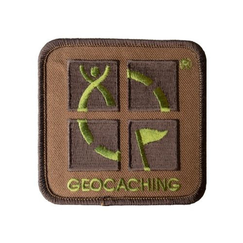 Geocaching.com Logo Camo patch