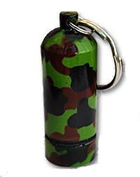 Camo bison tube geocache container