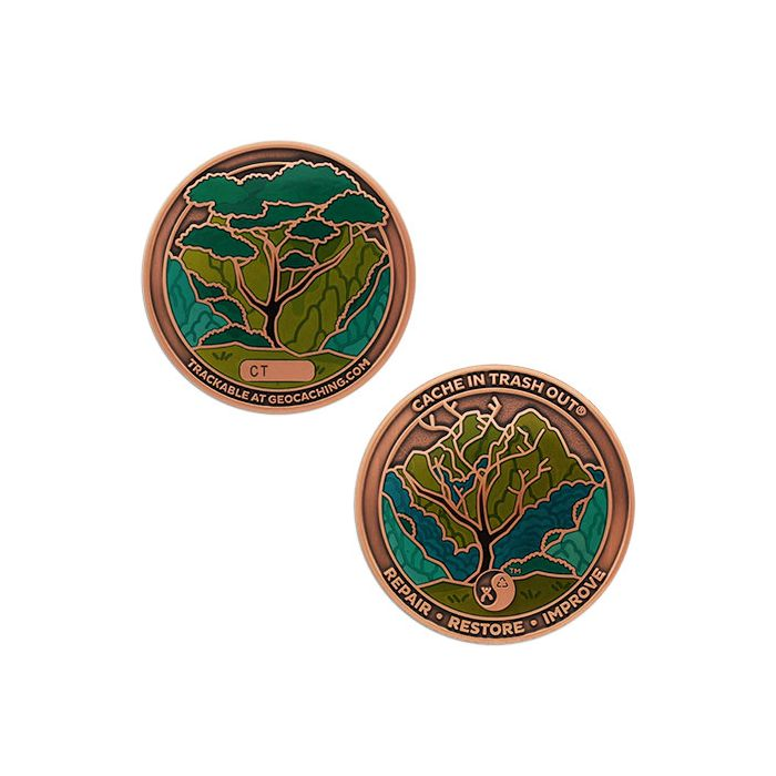 CITO 2021 Geocoin & Tag Set