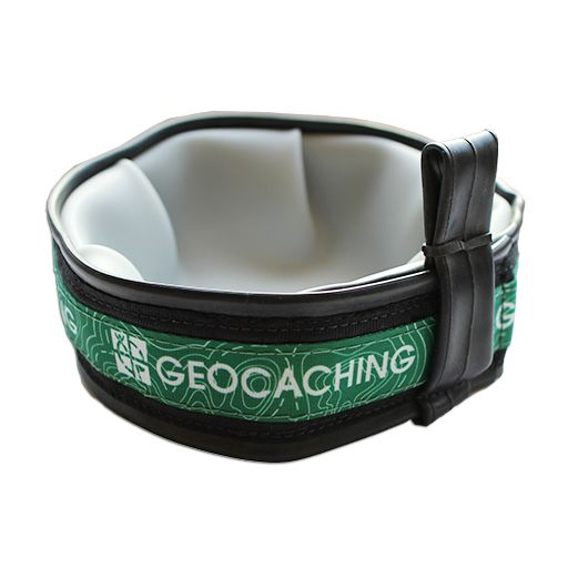 Cycle Dog® Geocaching Logo Travel Dog Bowl