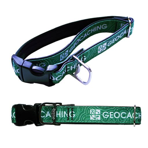 Cycle Dog® Geocaching Logo Dog Collar
