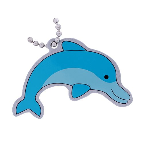 Dolphin Travel Tag