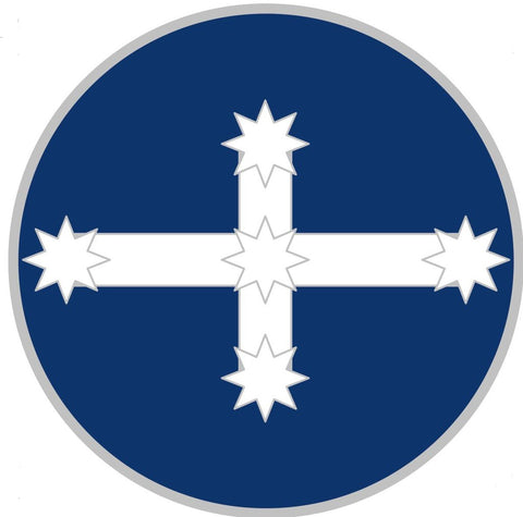 Eureka Stockade, Southern Cross Flag -  mini flag geocoin