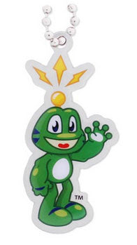 Waving Signal the Frog Tag
