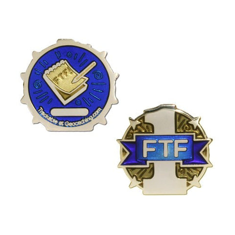 Official Groundspeak FTF Micro Geocoin