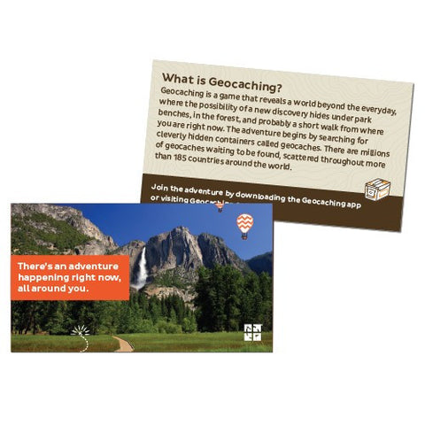 Geocaching Trail Cards - 20 pack