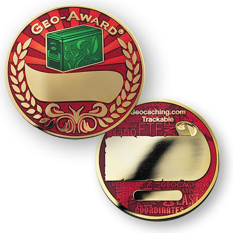 Geo Award Engraving Coin