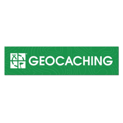 Geocaching Logo Vehicle Bumper Sticker