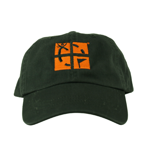 Geocaching Logo Cap - Green & Gold