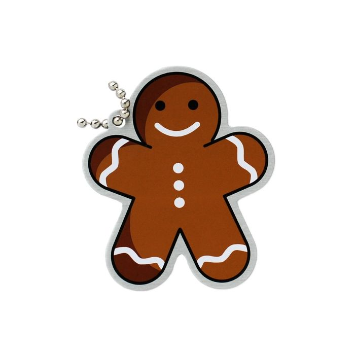 Festive Collection- Gingerbread Man Travel Tag
