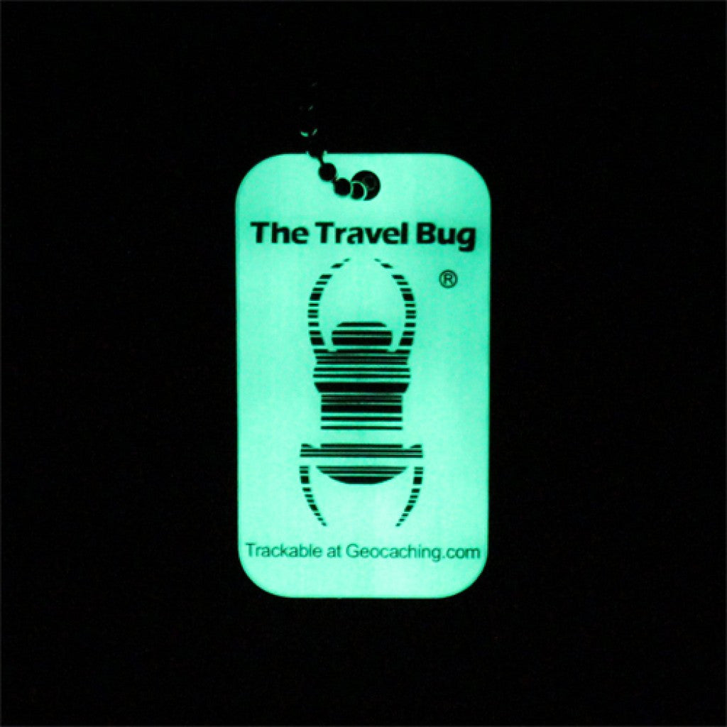 Travel Bug® Geocaching QR - Glow in the Dark
