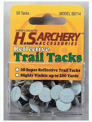 Hunters Specialties Trail Marker Tacks - White