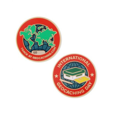International Geocaching Day 2016 - Micro Geocoin