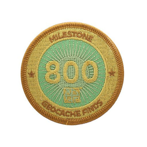 Milestone Patch - 800 Finds