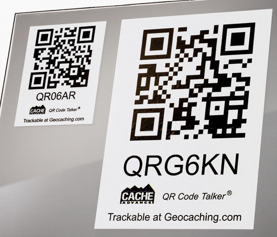 QR Code Talker Car Decal - Small