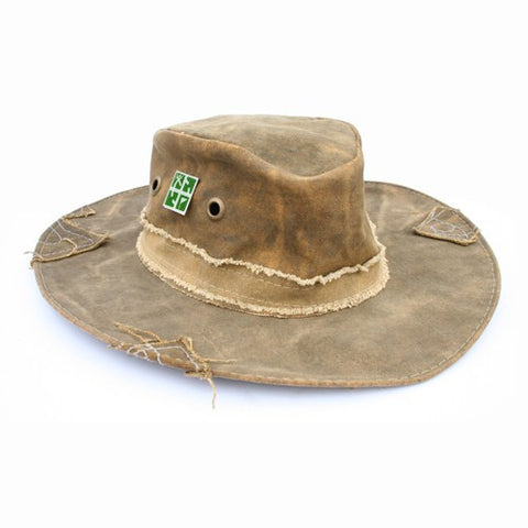 Real Deal Hat - with Geocaching logo pin