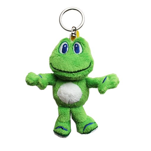 Signal the Frog® Micro Plush- with Keychain