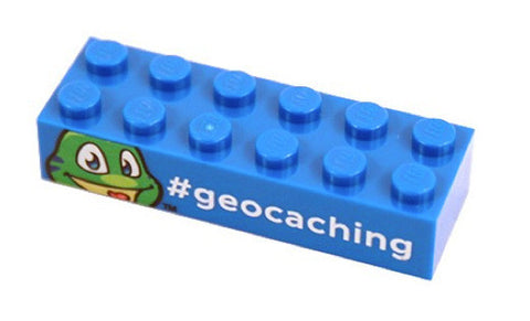 Signal the Frog Trackable LEGO™ Brick