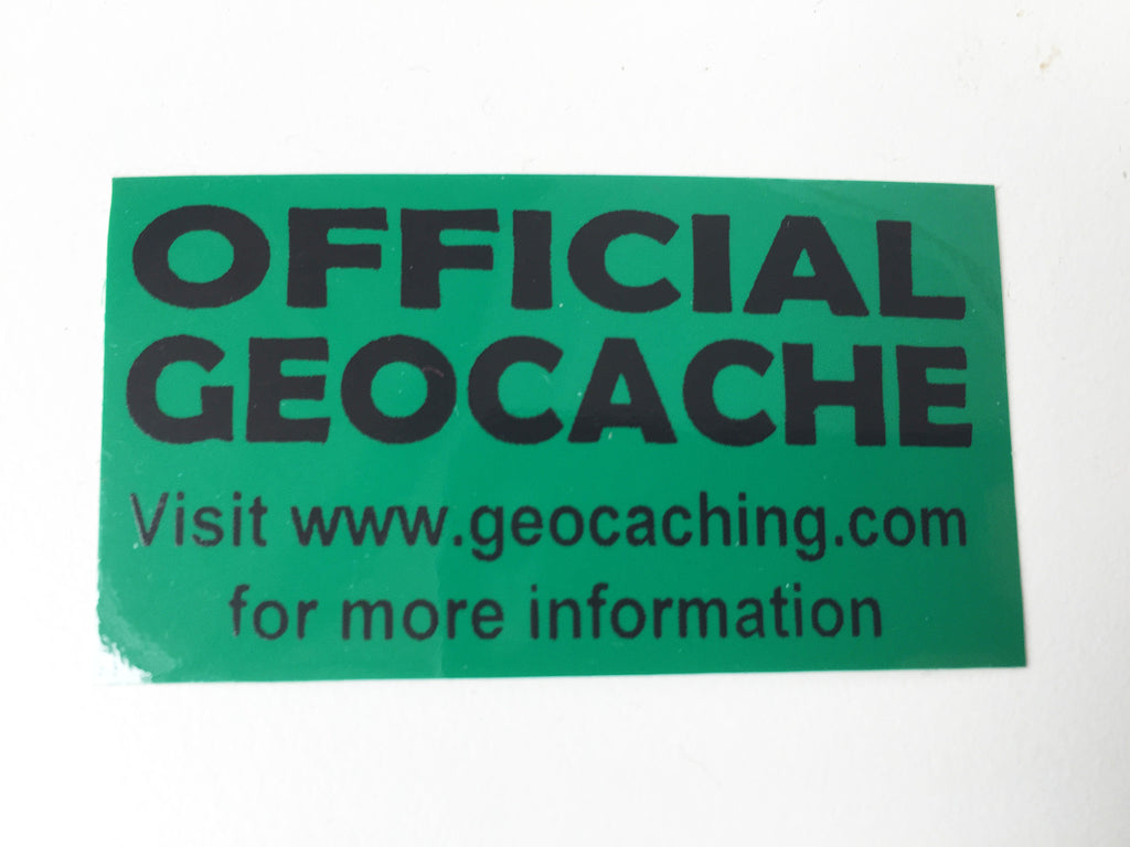 Geocache Sticker - Tiny Green