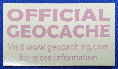 Geocache Sticker - Tiny Sand