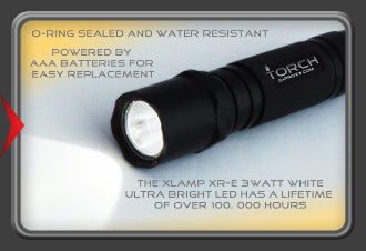 Brite Light LED Torch - Trackable
