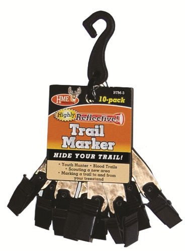 Nightcaching Trail Marker Clips, Pack of 10