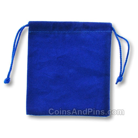 Velour Geocoin Bag - 3 Colours