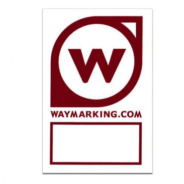 Waymarking Sticker