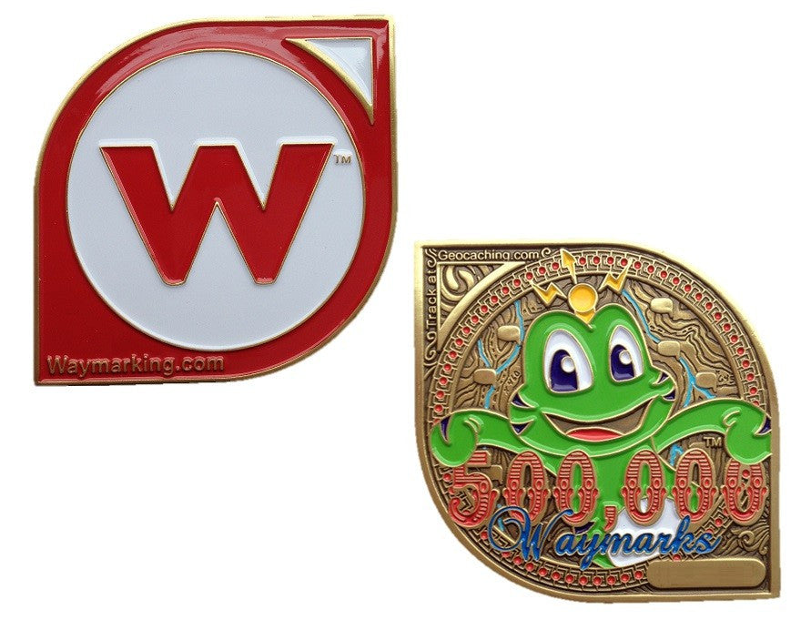 Waymarking 500000 Geocoin