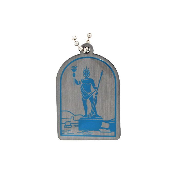 Wonders of the World Trackable Tag Ancient - Colossus of Rhodes