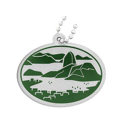 Wonders of the World Trackable Tag Natural - Guanabara Bay