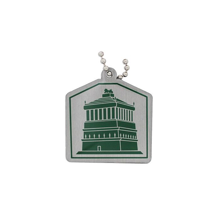 Wonders of the World Trackable Tag Ancient - Mausoleum of Halicarnassus