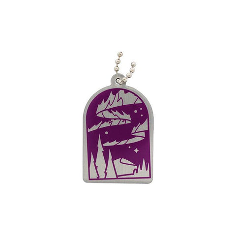 Wonders of the World Trackable Tag Natural - Aurora Polaris