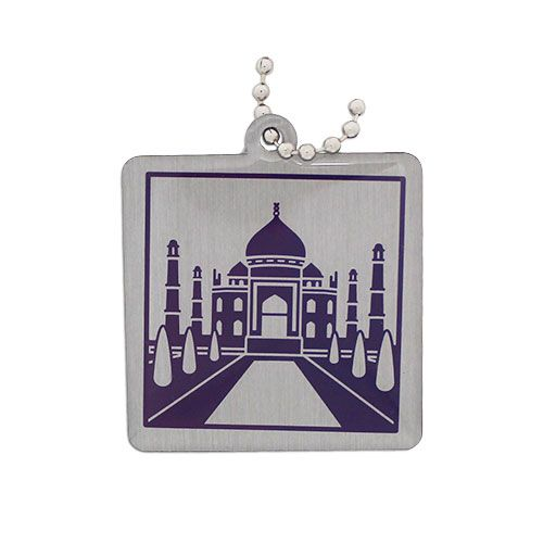 Wonders of the World Trackable Tag Modern - Taj Mahal