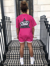 Load image into Gallery viewer, Pinstripe Jersey - Pink (Unisex)