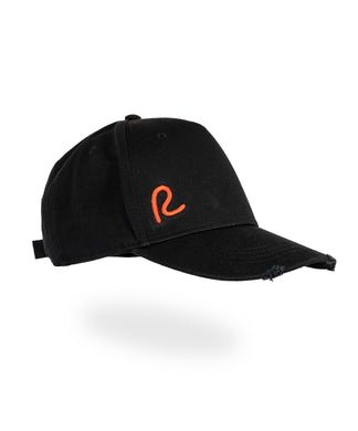 Black/Red R Baseball