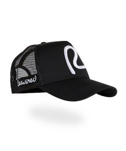 Rewired R Trucker - Black/White