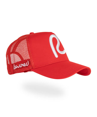 Rewired R Trucker - Red/White