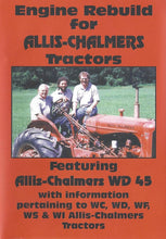 Load image into Gallery viewer, Allis Chalmers WD45 Engine Rebuild