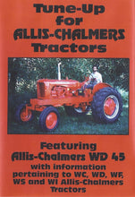 Load image into Gallery viewer, Allis Chalmers WD45 Tune Up