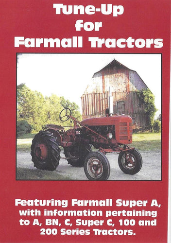 Farmall A, C, Super A, Super C Tune Up