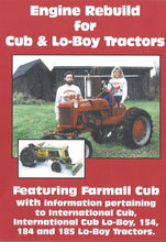 Load image into Gallery viewer, Farmall Cub Engine Rebuild