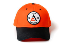 Load image into Gallery viewer, Allis Chalmers Hat, 1914 Logo, Orange/Black