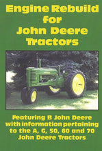 Load image into Gallery viewer, John Deere B, A, G Engine Rebuild