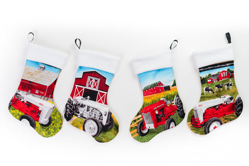 Ford Tractor Christmas Stockings, Choose Indivudally
