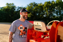 Load image into Gallery viewer, Allis Chalmers T-Shirt, Gray, Engineering in Action