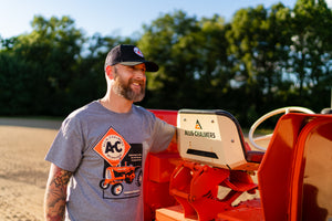 Allis Chalmers T-Shirt, Gray, Engineering in Action