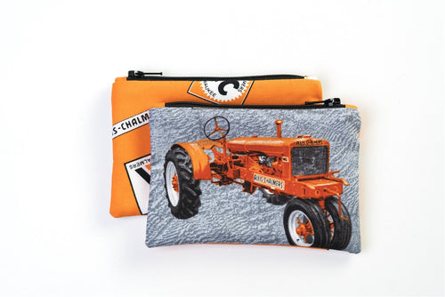 Allis Chalmers WC Zip Purse, gray