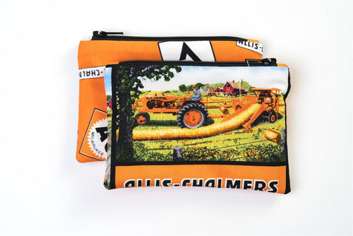 Allis Chalmers Rotobaler Zip Purse